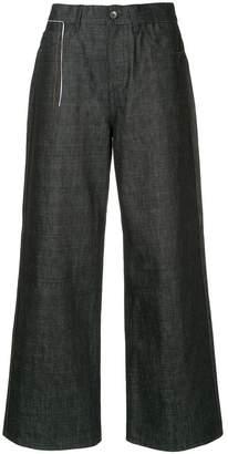 Marni denim wide leg trousers