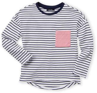 75faa425e Joe's Jeans Girls 7-16) Striped Pocket Long Sleeve Tee