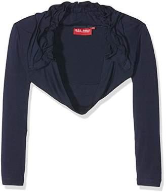 GOL Girl's Jersey-Bolero Jacket