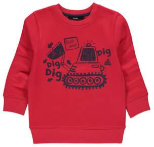 George Digger Print Sweatshirt
