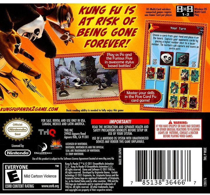 Nintendo Kung Fu Panda 2 for DS