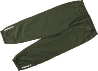 Supreme Warm Up Pants - 'SS 18' - Olive