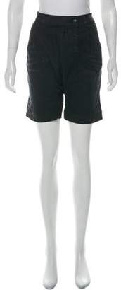 R 13 Harem High-Rise Shorts