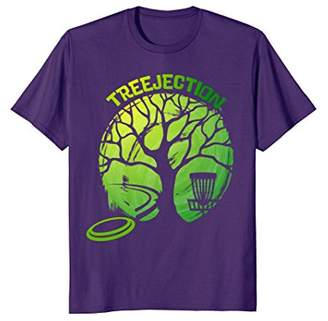 Funny Disc Golf graphic Tree T-shirt