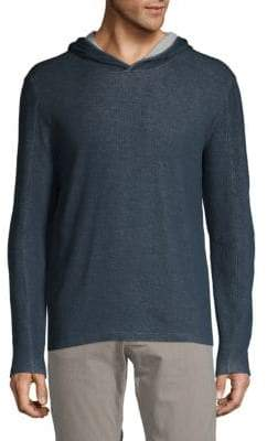 John Varvatos Long-Sleeve Cotton Hoodie