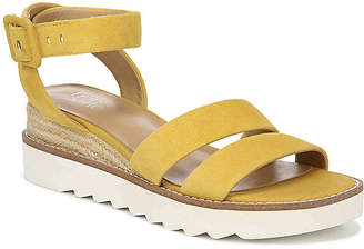 fea31b215cf Franco Sarto Yellow Women's Sandals - ShopStyle