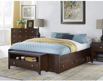 Hillsdale Furniture Pulse Platform Bed with Storage, Multiple Sizes and Colors