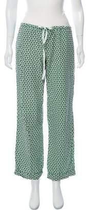 Tory Burch Printed Pajama Bottoms