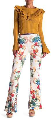 Flying Tomato Wide Leg Patterned Pants