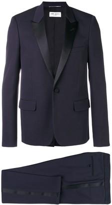 Saint Laurent peaked lapel two piece suit