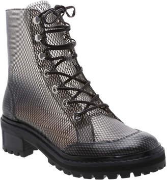 Schutz Elisangela Mesh Lace-Up Boots