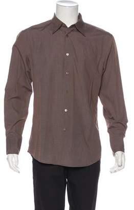 John Varvatos Solid Dress Shirt