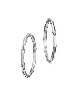 John Hardy Bamboo Hoop Earrings