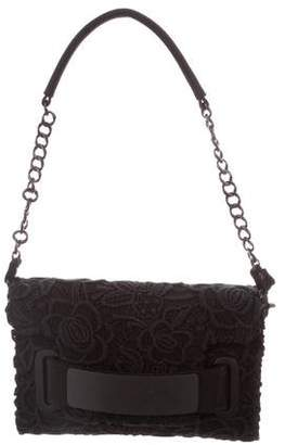 Blumarine Guipure Lace Shoulder Bag
