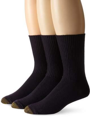 Gold Toe Men's Fluffies Casual Sock