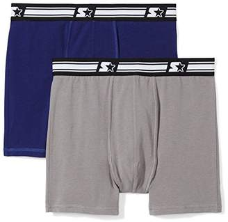 Starter Men's 2-Pack Stretch Performance Cotton Boxer Brief