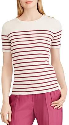 Ralph Lauren Striped Sailor Top