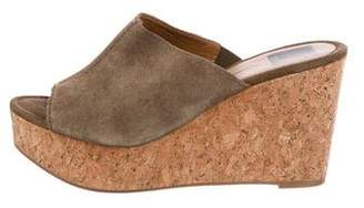 Dolce Vita Suede Wedge Sandals