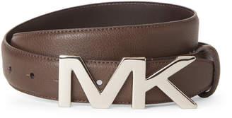Michael Kors Logo Plaque Belt