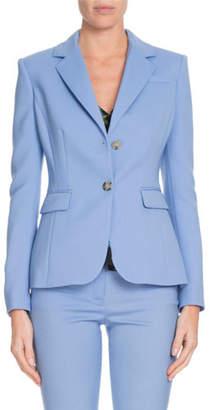 Altuzarra Fenice Two-Button Wool-Stretch Blazer