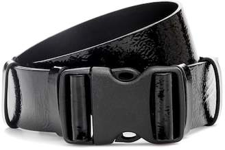 Isabel Marant Zayo patent leather buckle belt