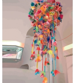 Pin It Artecnica Come Rain Come Shine Chandelier - Multicolor
