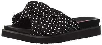 Betsey Johnson Women's June Slide Sandal