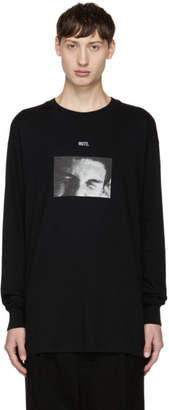 Song For The Mute Black Long Sleeve Mute T-Shirt