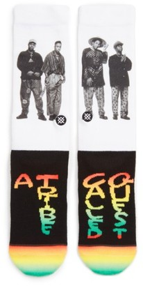 Men's Stance A Tribe Called Quest V2 Crew Socks $16 thestylecure.com