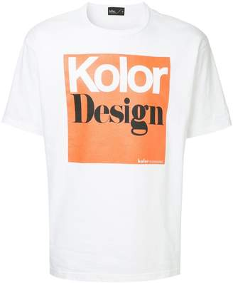 Kolor logo patch T-shirt