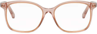 Chloé Pink Transparent Acetate Glasses