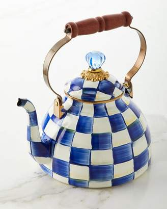 Mackenzie Childs MacKenzie-Childs Royal Check Tea Kettle