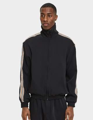 Cmmn Swdn Bret Track Jacket in Black