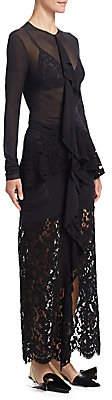 Proenza Schouler Women's Ruffle Lace Dress