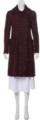 Marni Wool-Blend Metallic Jacket