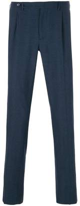 Berwich micro houndstooth check trousers