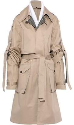 Faith Connexion Gathered Cotton-garbardine Trench Coat