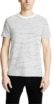 Rag & Bone Railroad Stripe Short Sleeve Tee