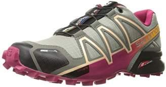 Salomon Speedcross 4 Cs W, Women's Trail Running Shoes, Grey (Shadow/Sangria Peach Nectar 000), UK (36 2/3 EU)