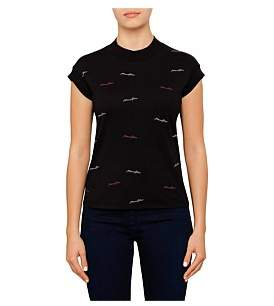 Armani Jeans All Over Logo Tee