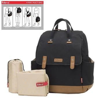 477a47451 Storksak Robyn Convertible Diaper Bag Black