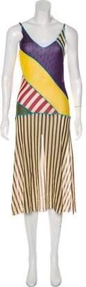 Jean Paul Gaultier Semi-Shear Sleeveless Dress