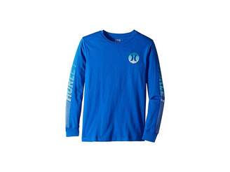 Hurley Line Long Sleeve Tee (Big Kids)