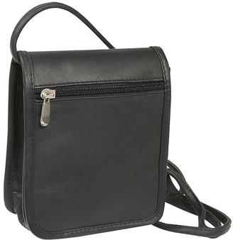 Le Donne Leather Flap Over Mini Crossbody Bag