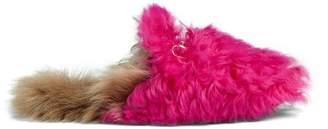 Gucci Princetown merino wool slipper