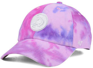 '47 Atlanta Hawks Pink Tie-Dye Clean Up Cap