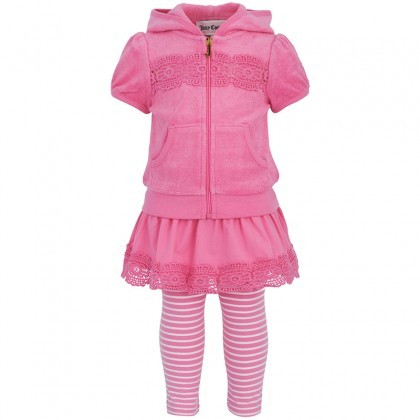 Juicy Couture Pink Outfit Set