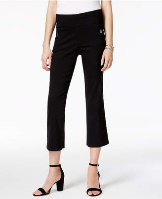 INC International Concepts Cropped Straight-Leg Pants, Only at Macy's $59.50 thestylecure.com