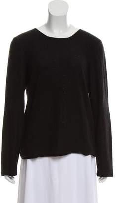 Giorgio Armani Cashmere Embellished Sweater