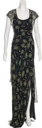 Alessandro Dell'Acqua Printed Maxi Dress